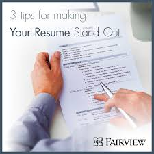 How To Make Experience Resume How To Make Resume Stand Out Resume Templates