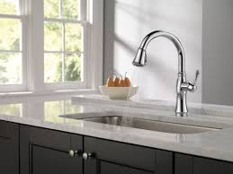 delta kitchen faucet warranty faucet com 9197 pn dst in polished nickel by delta