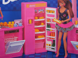 amazon com barbie kitchen playset 1992 arcotoys mattel toys
