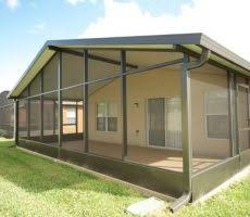 Painting Aluminum Screen Enclosures by 1 Cape Coral Screen Enclosure New Cage Front Entry Way Carport