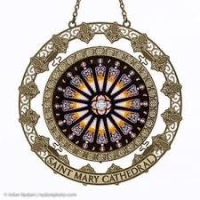cathedral window sun catcher ornaments cathedral