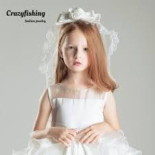 flower girl hair accessories wedding children headdress flower girl hair accessories princess