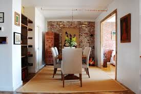 The Dining Room Brooklyn My Houzz Textiles Charm An Open Brooklyn Loft Industrial