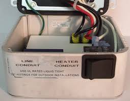 solaira patio heaters solaira 120 volt control for quartz lamp heaters enclosed box j