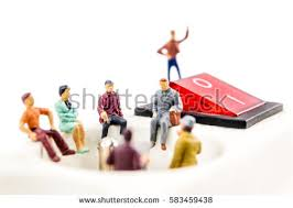miniature figurines stock images royalty free images vectors