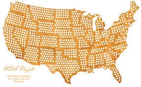 us map puzzle wood usa puzzle cap map cap maps