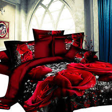 Red Duvet Set King Duvet Covers U0026 Bedding Sets Ebay