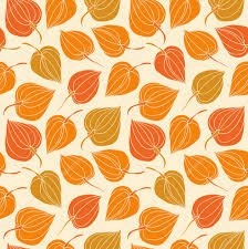 cute trees colorful floral seamless pattern contrast fabric texture with