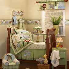 Nursery Bed Set Safari Baby Animal Nursery Bedding Zoofari Baby Crib Bedding Set