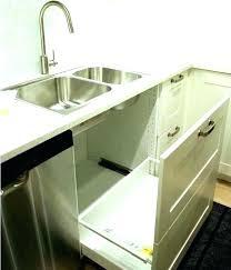 garbage can under the sink kitchen sink pictures under kitchen sink trash can under counter