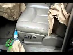 sem paint touch up leather car truck seat youtube