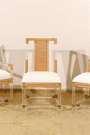modern klismos chair chairs modern oak dining chairs leather oak material lucite