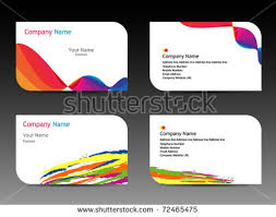 Free Graphics For Business Cards White Stripe Creative Business Card Download Free Vector Art