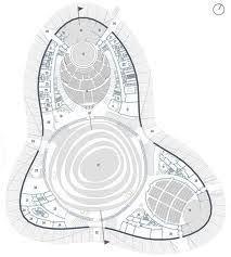 House Plans Architect Sami Cultural Center Sajos Halo Architects Zaha Hadid