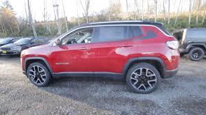 jeep compass limited red 2018 jeep compass limited redline pearl jt122435 redmond