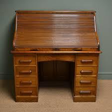 vintage roll top desk value large edwardian oak antique roll top desk c 1900 united kingdom
