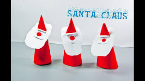 How To Make A Origami Santa - diy how to make a paper santa claus