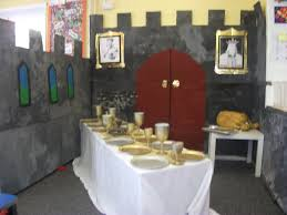 castle room set up for princess type fairytales castle role play