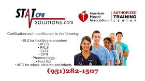 cpr bls acls pharmacology certification in temecula