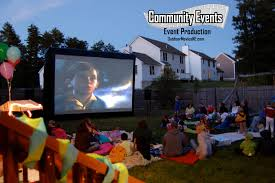 outdoor movie packages community events