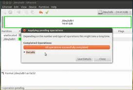 format as fat32 ubuntu how to format sd card or usb drive on ubuntu 12 04 the geeky space