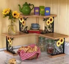 diy sunflower kitchen decor Sunflower Kitchen Decor in Curtain