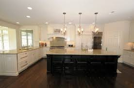 Off White Cabinets With Dark Island Same As Our Kitchen Indoor