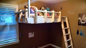 Plans To Build A Bunk Bed Ladder by Floating Loft Bed For Under 150 11 Steps With Pictures