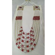 men necklace designs images Men 39 s designer sherwani necklace at rs 550 piece padma nagar jpg