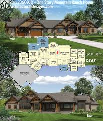 mountain chalet home plans best 25 mountain ranch house plans ideas on country
