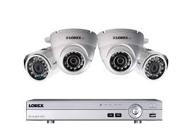 4 channel 1080p hd security camera system with 4 1080p metal