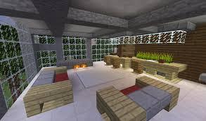 minecraft modern house living room u2013 modern house