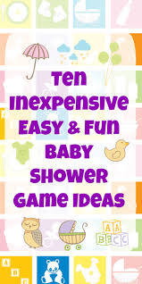 baby shower activity ideas 10 inexpensive easy baby shower ideas preemie