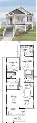 home design coastal house plans narrow lots small lot arts hadley