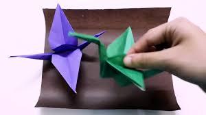 folding paper cranes origami easy origami crane instructions