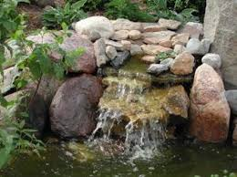 Backyard Waterfalls Ideas Pondless Waterfall Ideas Hunker