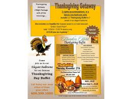 thanksgiving events at the flanders hotel in city