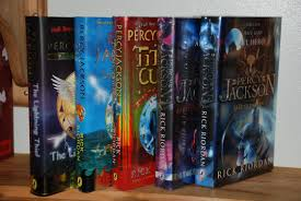 percy jackson lightning thief by riordan signed abebooks