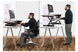 sit and stand desk converter stand up desk kit platform conversion