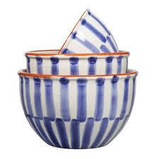 home essentials ceramic bowls set of 3 save 58