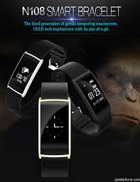 oled bracelet review images N108 0 96 inch oled smart bracelet with heart rate monitor design jpg