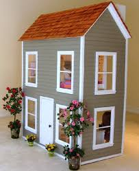 american doll dollhouse free plans to make big three story