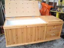 pine ottoman storage chest toy box in antrim county antrim