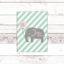 baby book ideas elephant baby shower guest book ideas mint pink baby shower