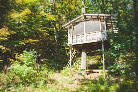 in the woods tree house in the woods healing farm ny 2 hipcer reviews