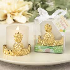 candle wedding favors pineapple votive candle wedding favors destination wedding