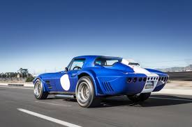 vintage corvette blue get your classic corvette fix with the superformance revival grand