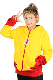 halloween hoodie kid flash hoodie costumes the flash 3 zipper coat for cosplay