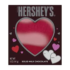the hershey company valentine u0027s hershey u0027s milk chocolate heart