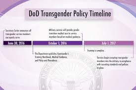 special report dod transgender policy